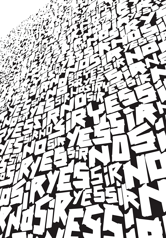 "Yes Sir No Sir, הכרזה שלי יאן כריסטנסן, נורווגיה מתוך ""מציירים מילים"""