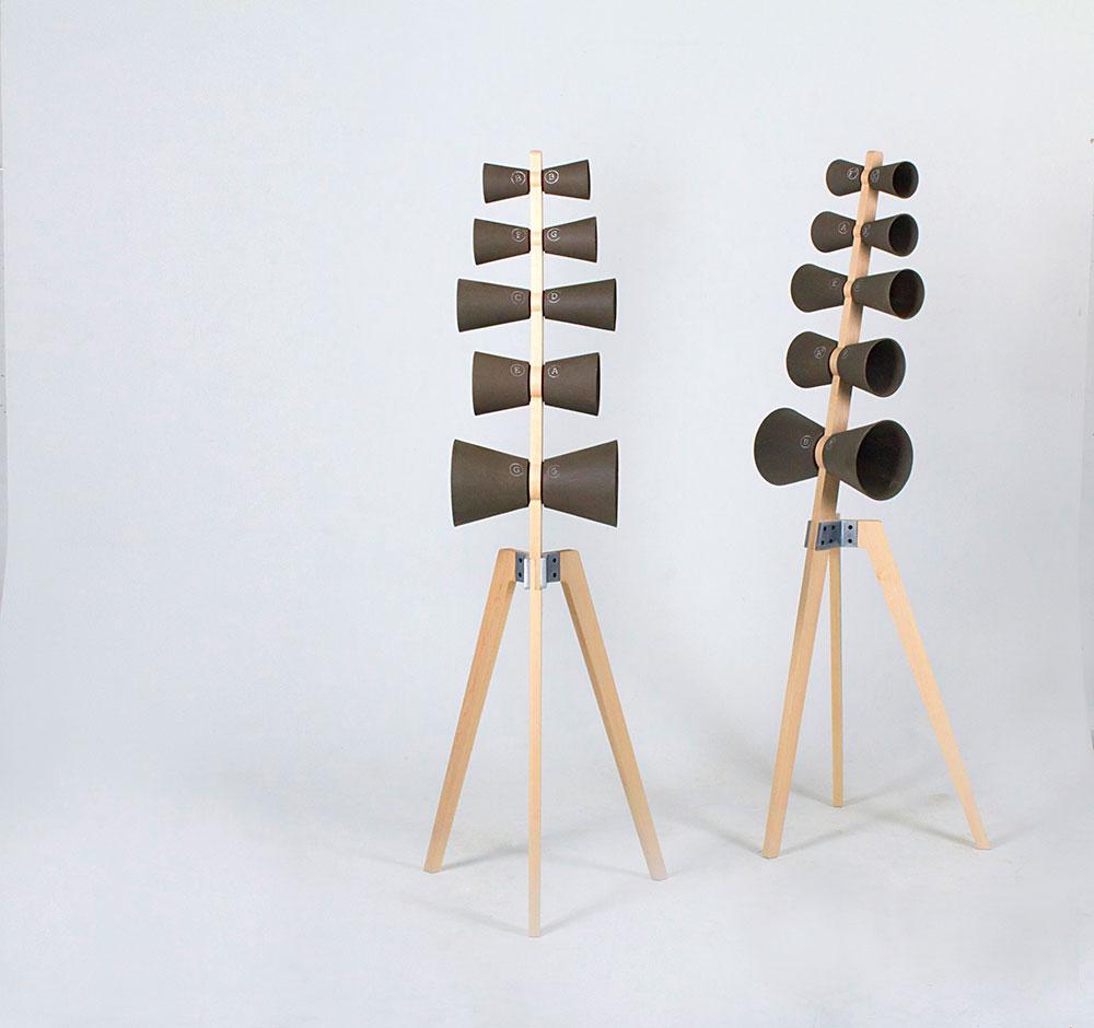 פעמוני בזלת, כלי נגינה עם מנעד צלילים חדש. פרויקט הגמר של רועי יהלומי, HIT