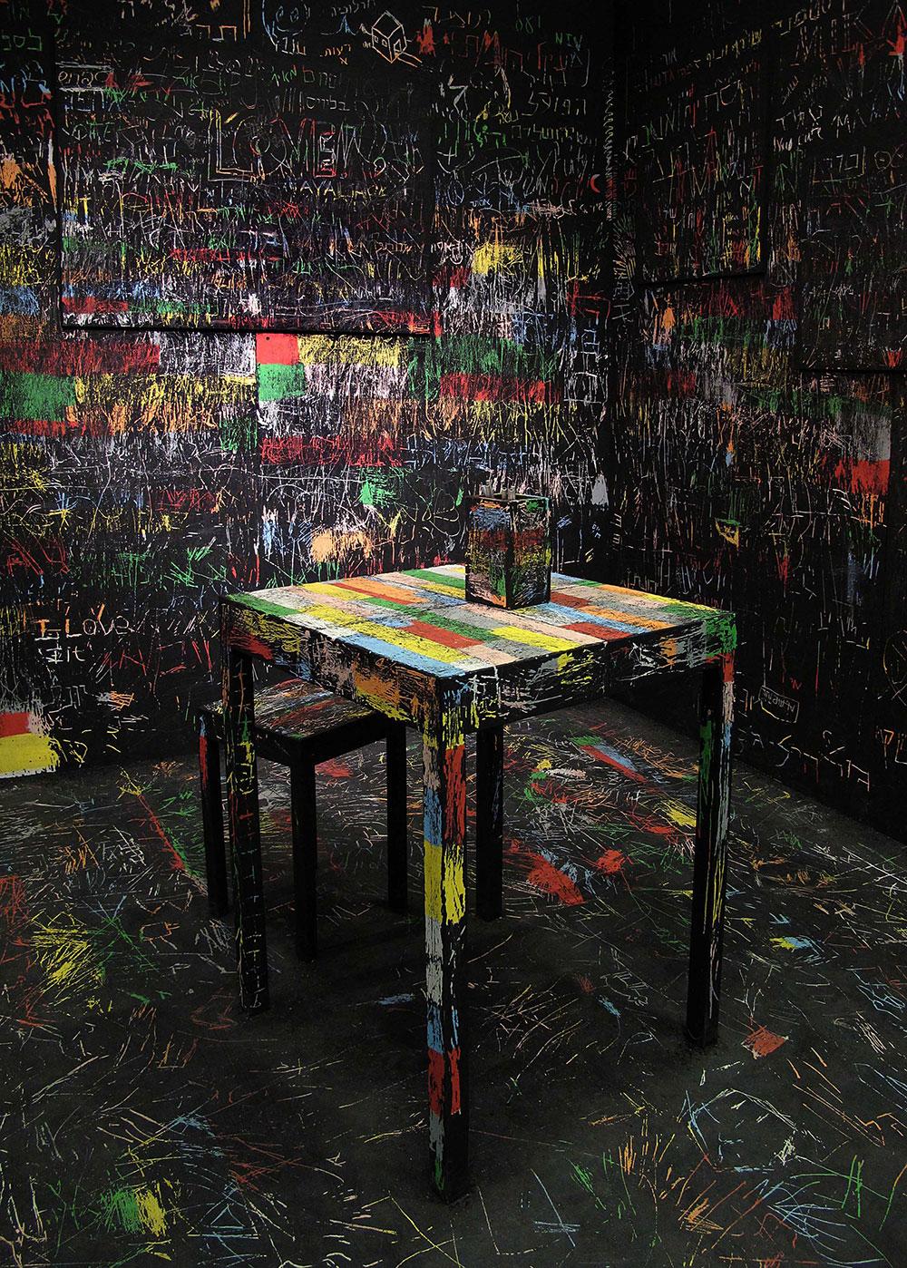 זיכרונות בצבעים מאת איתי אהלי. נקודת הסיום