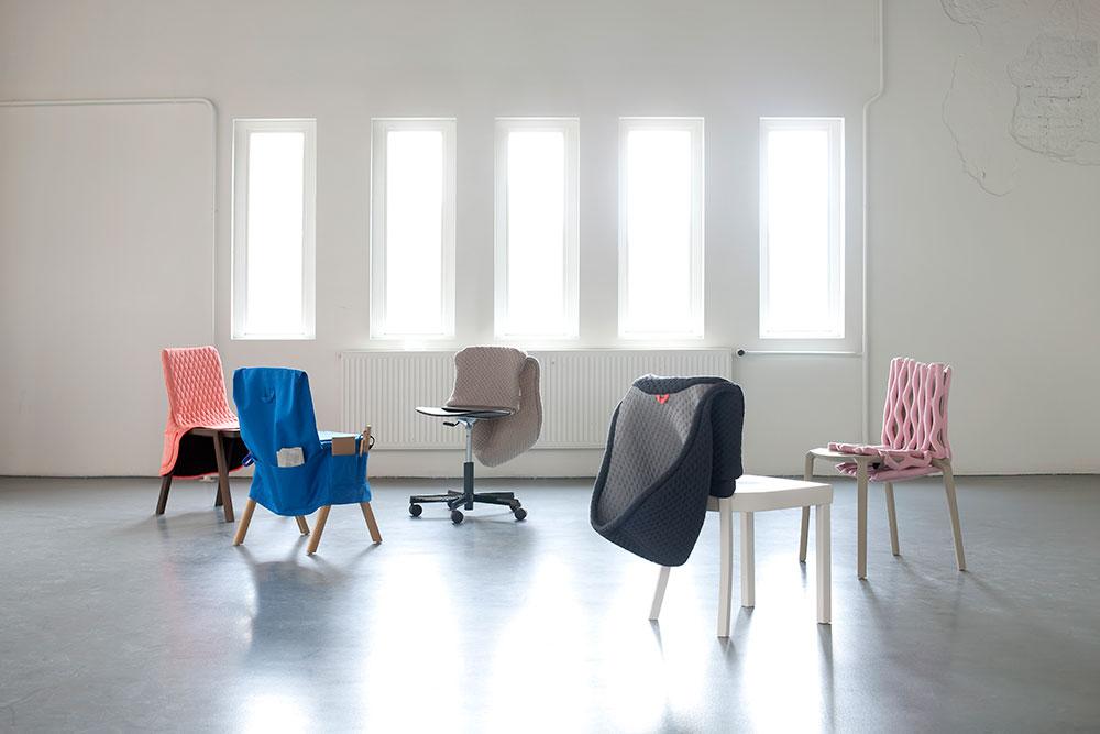 Chair Wear, אוסף הפרה-א-פורטה. צילום: Marleen Sleeuwits