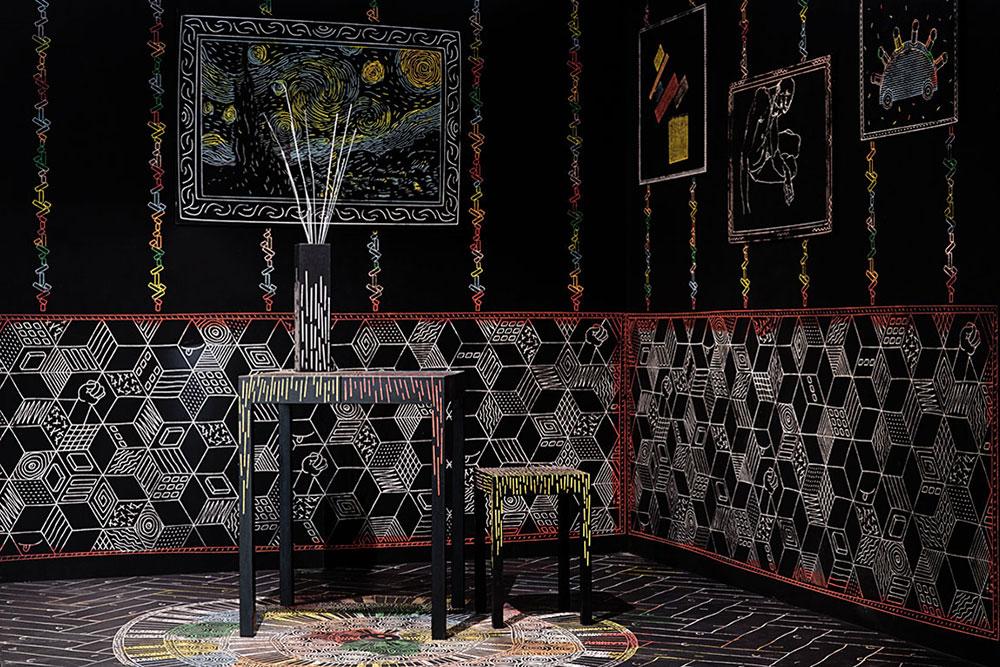 זיכרונות בצבעים מאת איתי אהלי. החדר שגורד בכרסומת הדיגיטלית