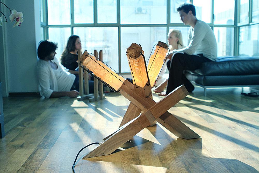 Indoor Fire, פרויקט הגמר של זנדני וחיא, HIT 2012