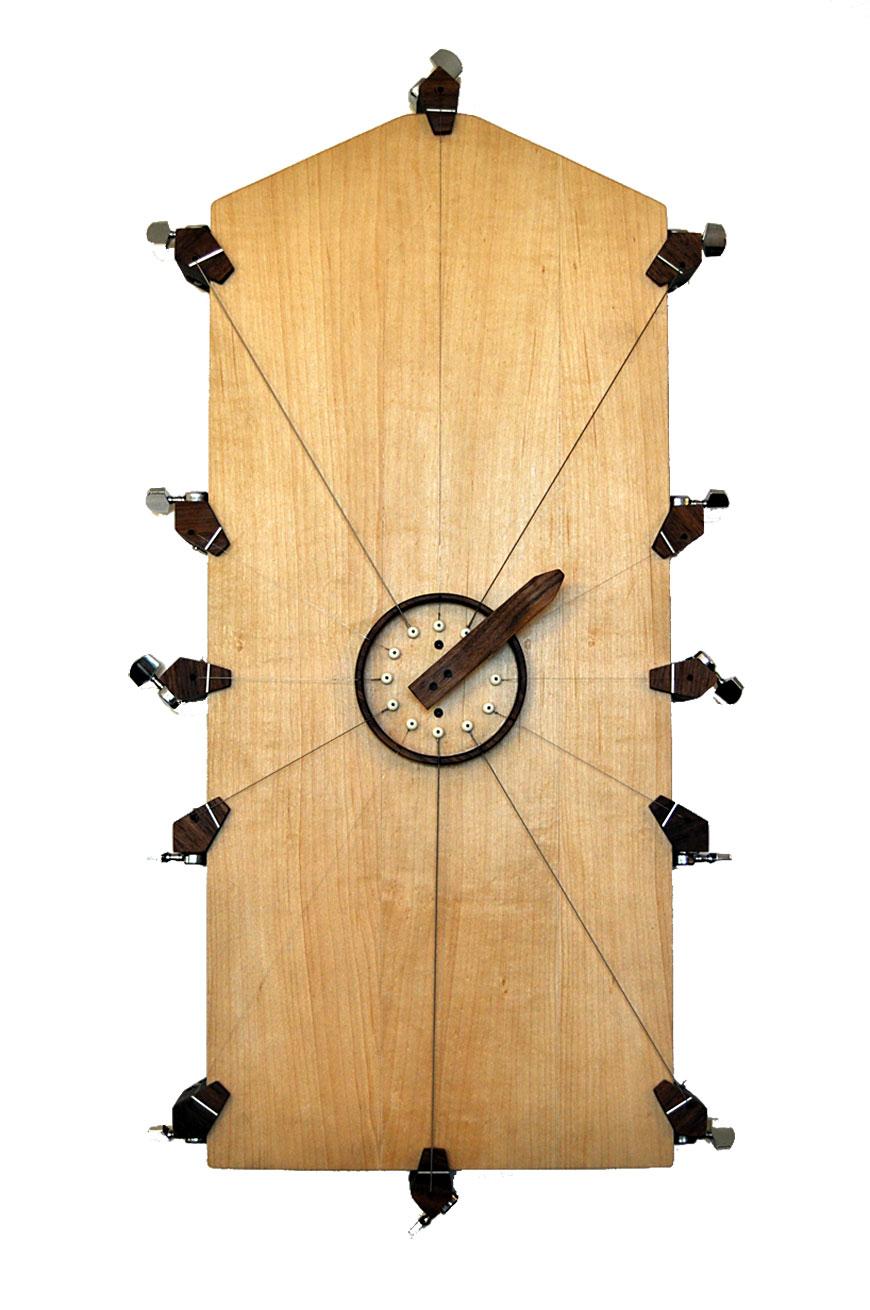 שעון המיתרים. לכל שעה צליל משלה