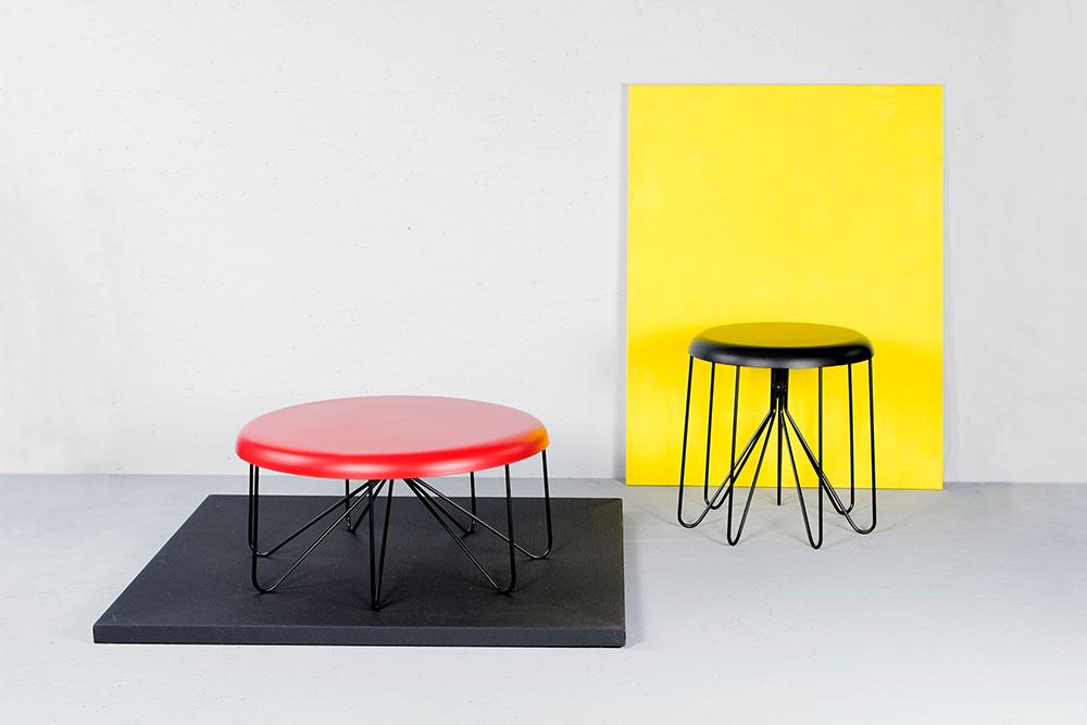 Cap Tables. הושפעו מהעיצוב התעשייתי של שנות ה-50