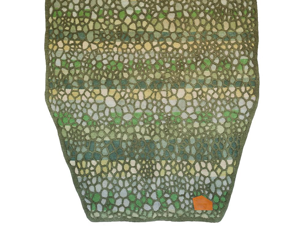 Day By Day, השטיח שעיצבו מישר'טרקסלר ל-Nodus. הדוגמה מייצגת את זמן העבודה