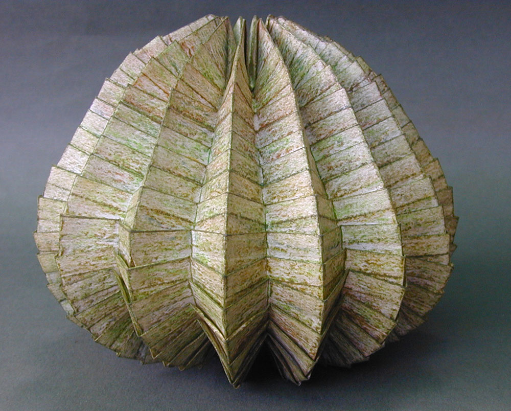 פול ג'קסון, קערה. מתוך סדרת הפסלים המקופלים Organic Abstracts