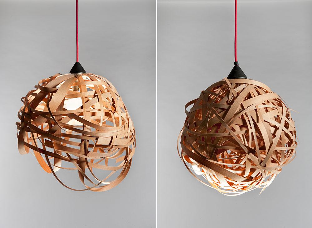 NEST תלויה. אפשר להזמין כל מנורה בכל גודל ובכל צבע