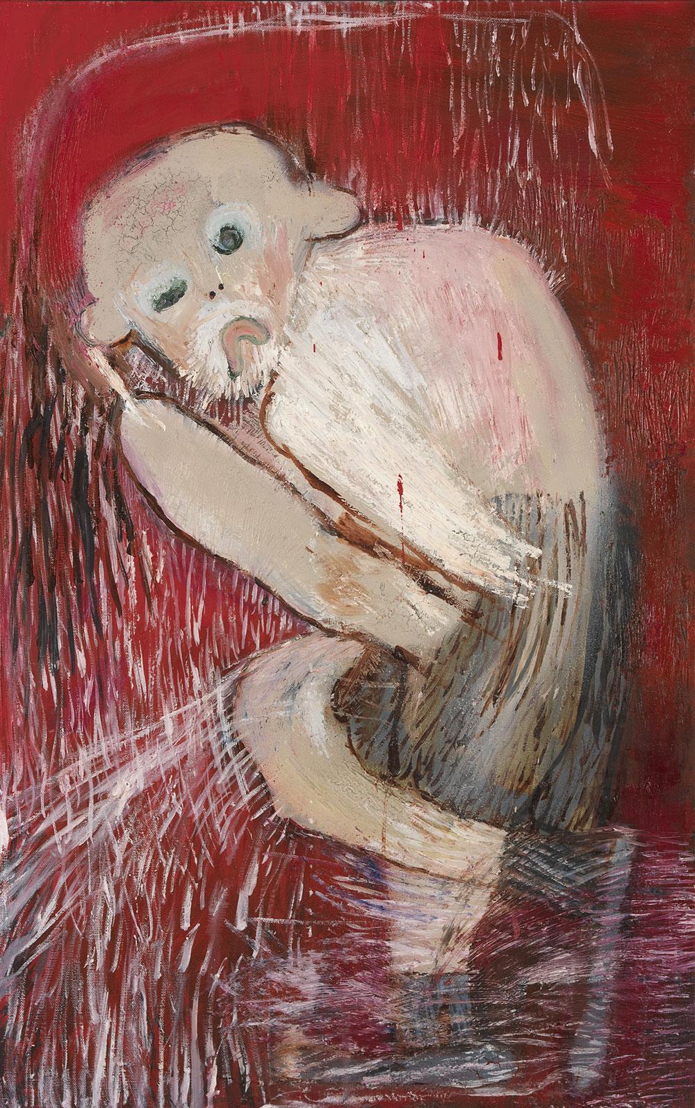 ציור של קוף מתוך ספר האמן של רקפת-וינר-עומר