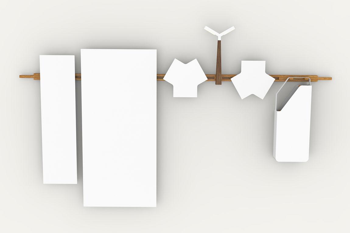 ללא כותרת, מערכת הרהיטים התלויה של ספי חפץ