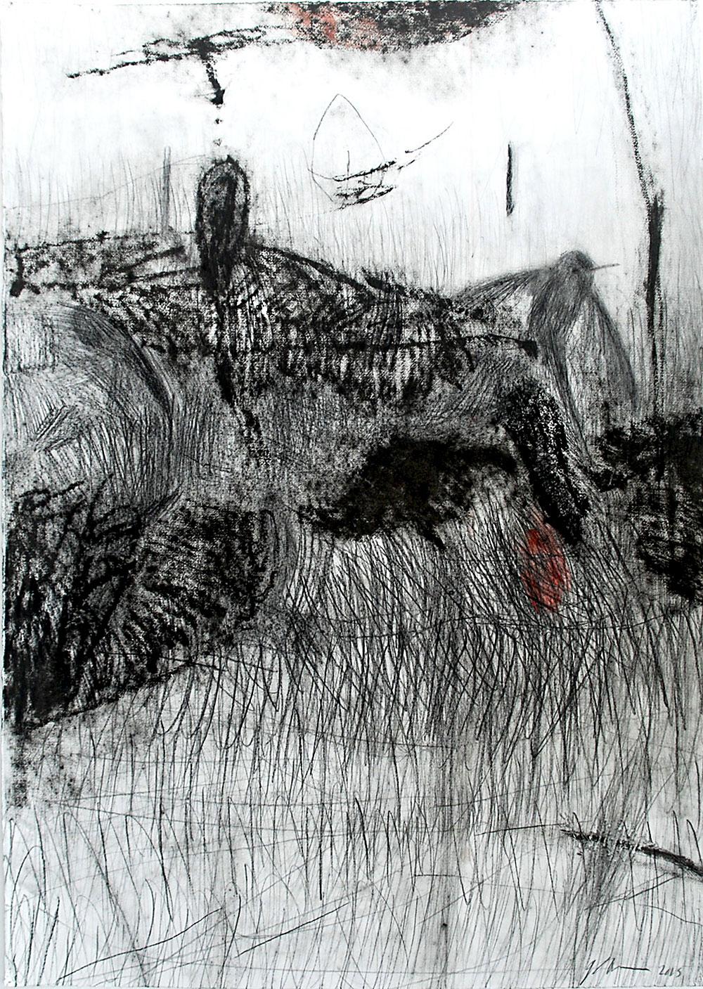 רישום-ציור בשחור