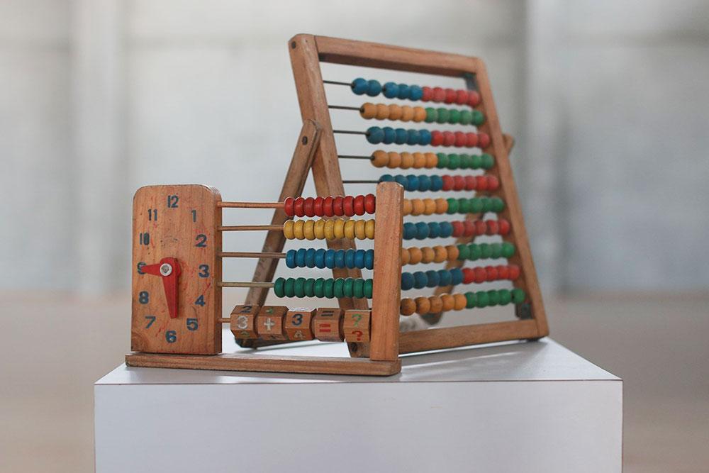חשבונית מעץ, אוסף מיכאל לוריא, מוזיאון אוצרות בחומה