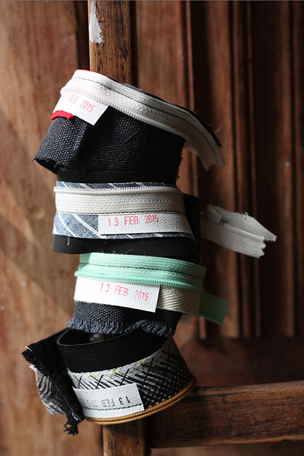 Rita & Frida. שאריות הסטודיות נוצלו לעיצוב אובייקטים לגוף כצמידים
