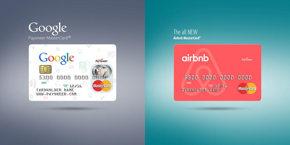 שי דיין. כרטיסי האשראי שעיצבה ל-airbnb ו-Google