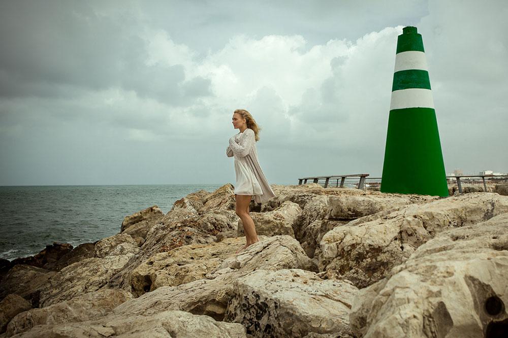 צילום: ניר סלקמן. דוגמנית: לי לוי לסוכנות דה ז'ה וו. איפור: ליאורה דייזי