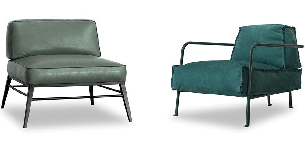 """בריסל וגודאר, """"בקסטר"""". הכורסאות של פאולה (מימין) נבונה ומטיאו תון עם אנטוניו רודריגז. צילומים: יח""""צ"""
