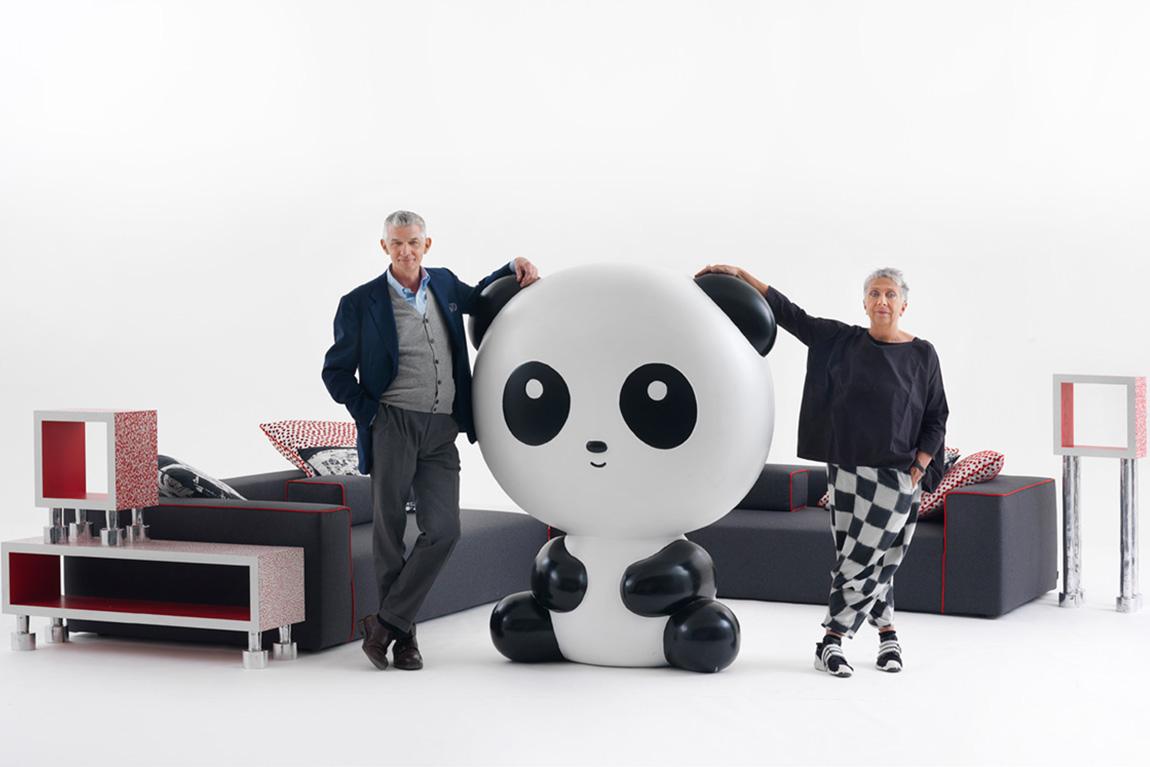 נבונה וקפליני עם קולקציית Panda Landscape
