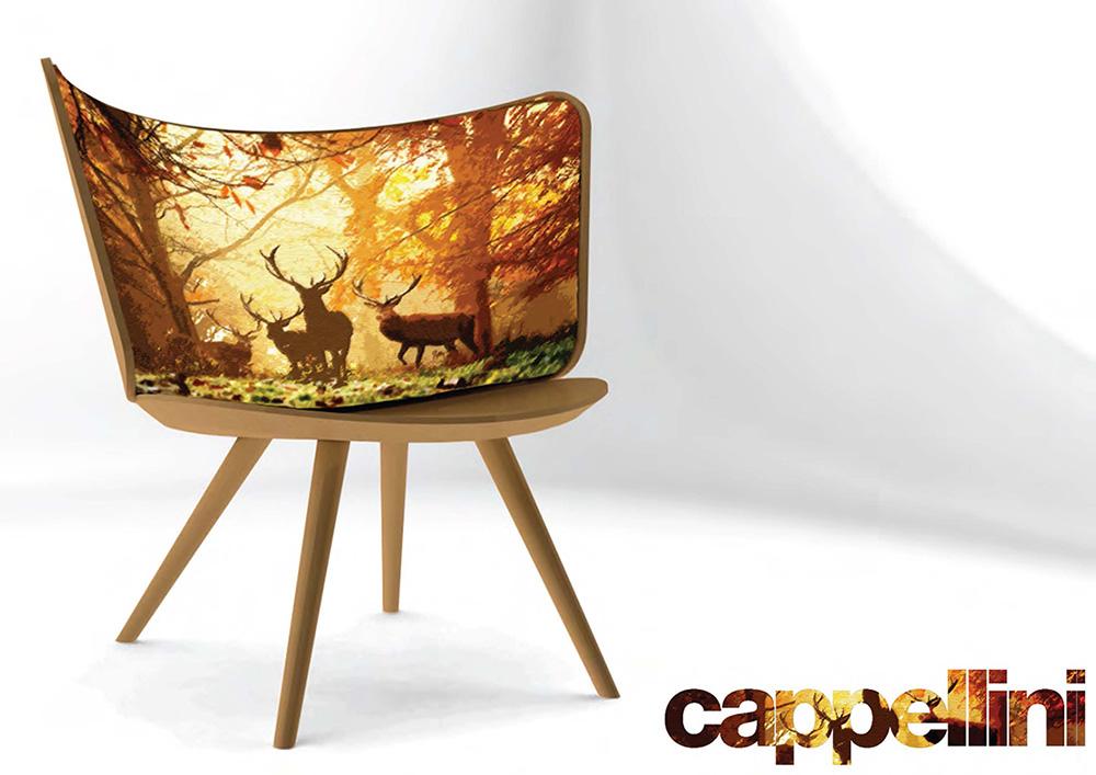 """Embroidery Armchair, יונאס לינדסטן ל""""קפליני"""". רקום. צילום: יח""""צ"""
