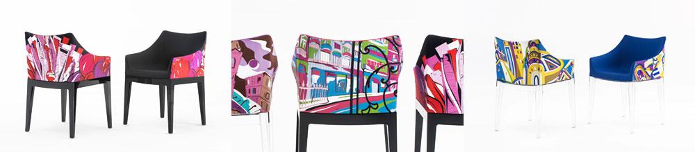 """Madame Pucchi. שיתוף פעולה בין פיליפ סטארק, בית האופנה האיטלקי אמיליו פוצ'י וקרטל. צילום: יח""""צ"""