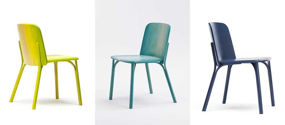 Splir chair, אופציית הגוונים הגרדיאנטיים