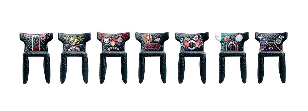 "Monster Chairs, המהדורה המיוחדת. מרסל וונדרס ל""מוי"". צילום: יח""צ"