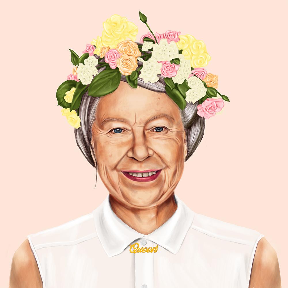 עמית שמעוני, המלכה אליזבת