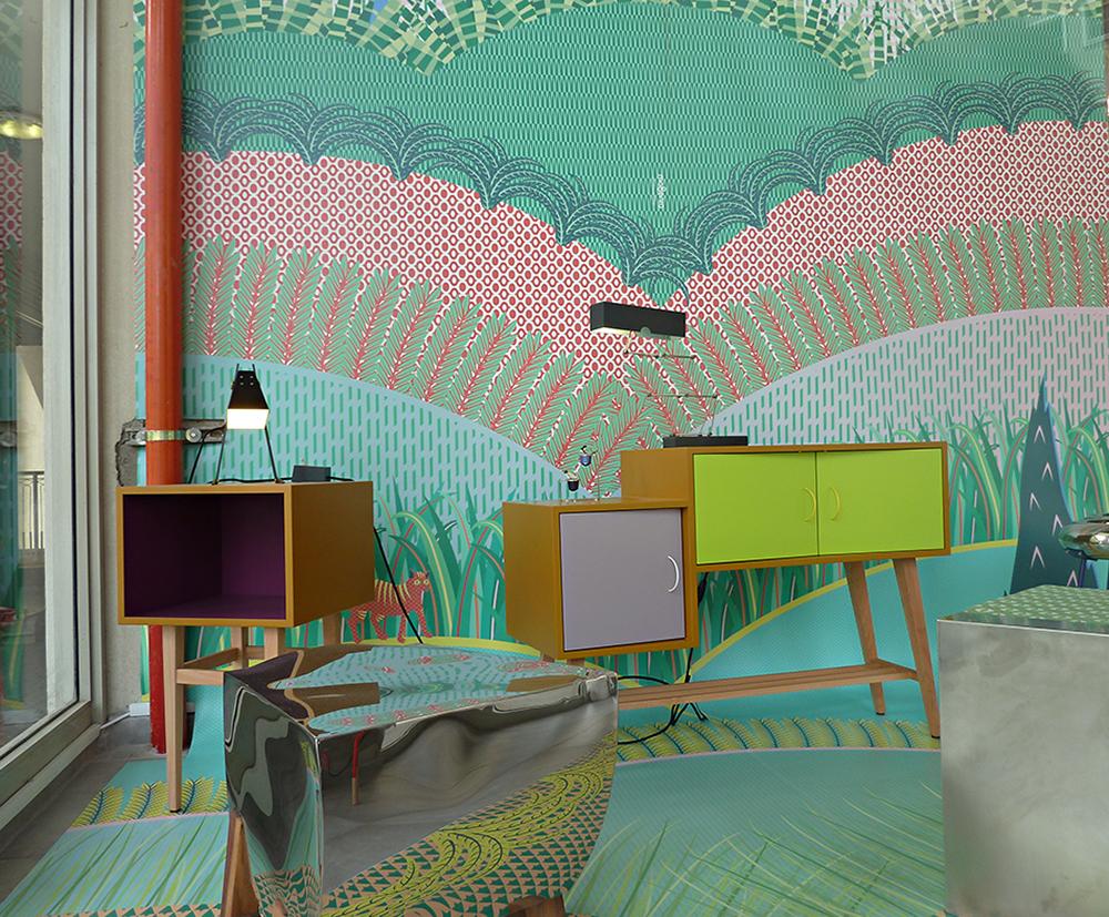 """דיליריום, התערוכה של סטודיו מג'נטה ב""""סאגה"""". צילום: sn"""