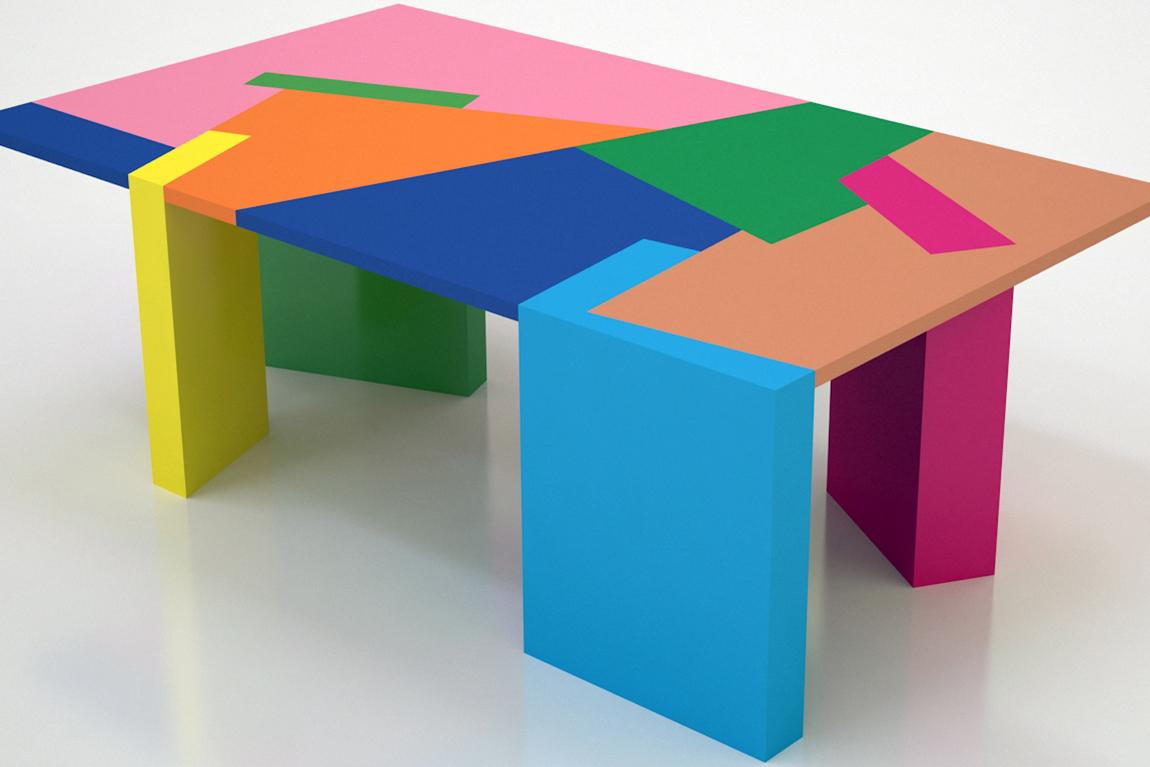 השולחן של צוקרמן שימשוביץ ורייזינגר, תמונה ראשית