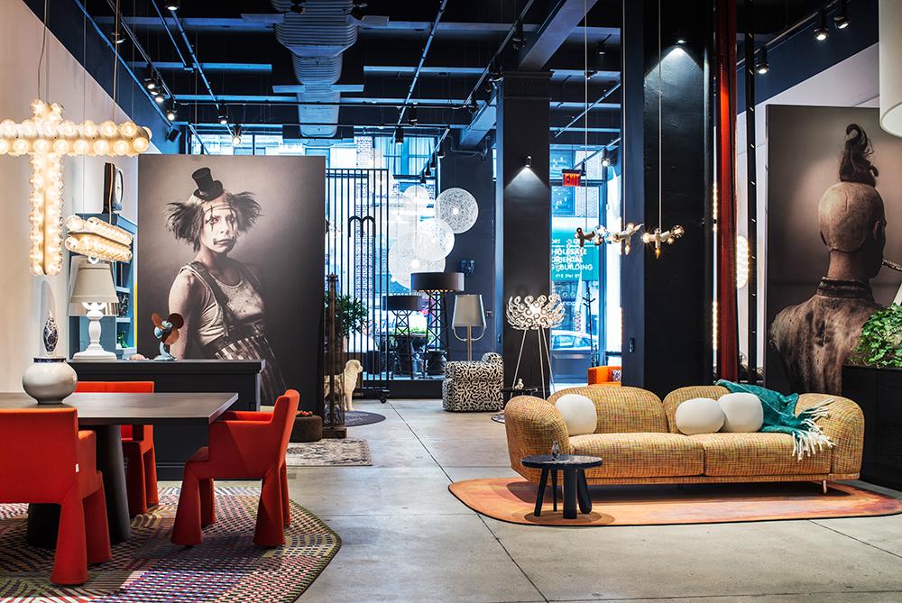 """אולם התצוגה הניו יורקי של """"מוי"""". הראשון מחוץ לאירופה"""