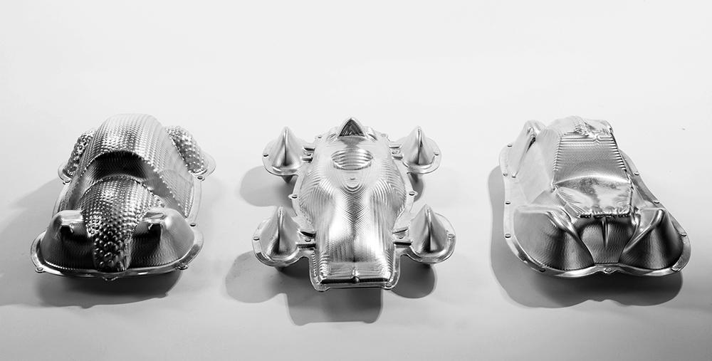 מכוניות מתוך פרויקט הגמר בבצלאל