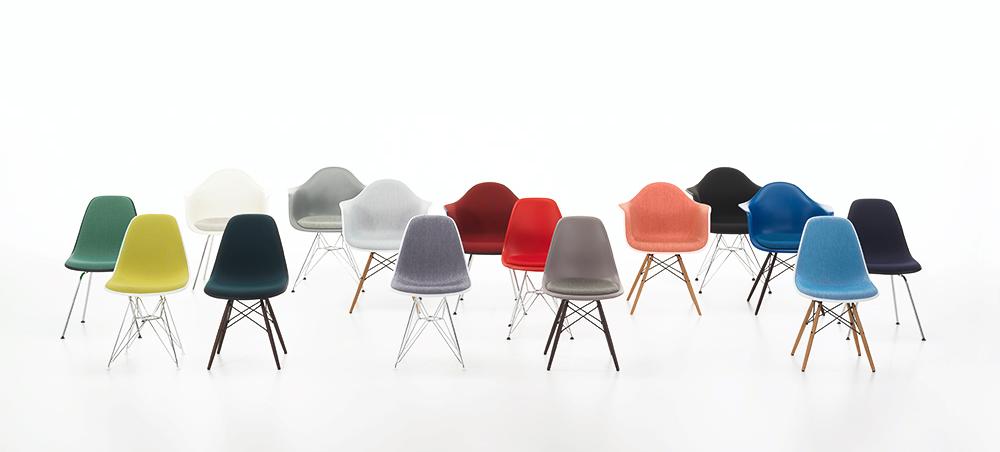 כיסאות הפלסטיק של ריי וצ'ארלס אימס, ויטרה
