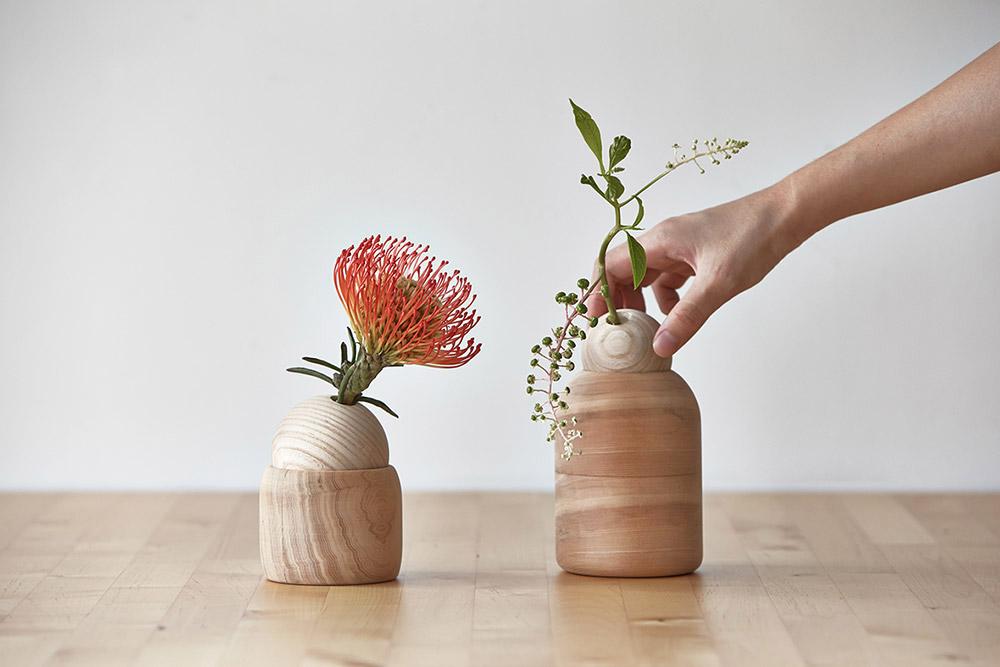 פינוקיו, KIMU LAB. כקומפוזיציות זעירות, מינימליסטיות, עדינות, של ירק ופרחים