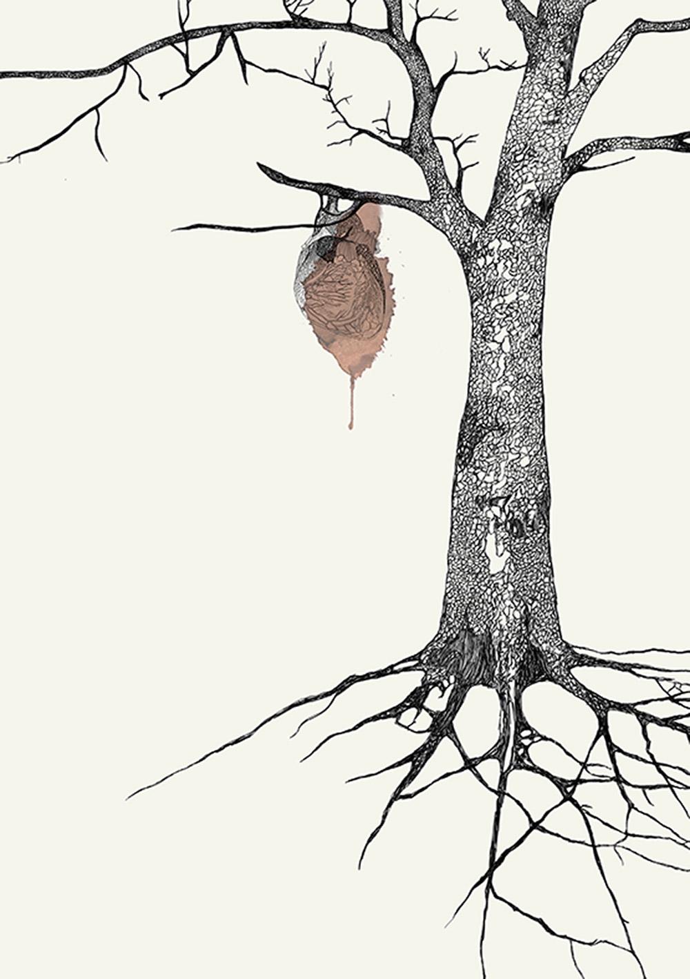 העץ המדמם, מורן קליגר, 2015
