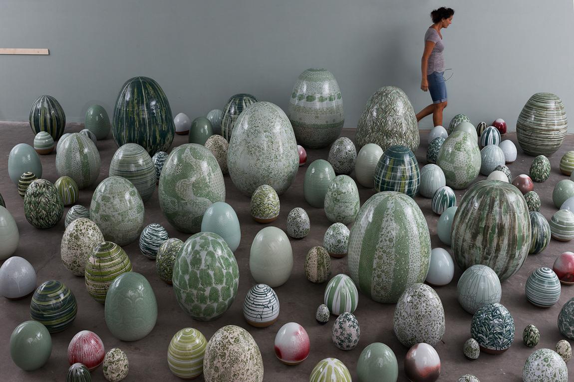 הביצים של ריגר. תמונה ראשית