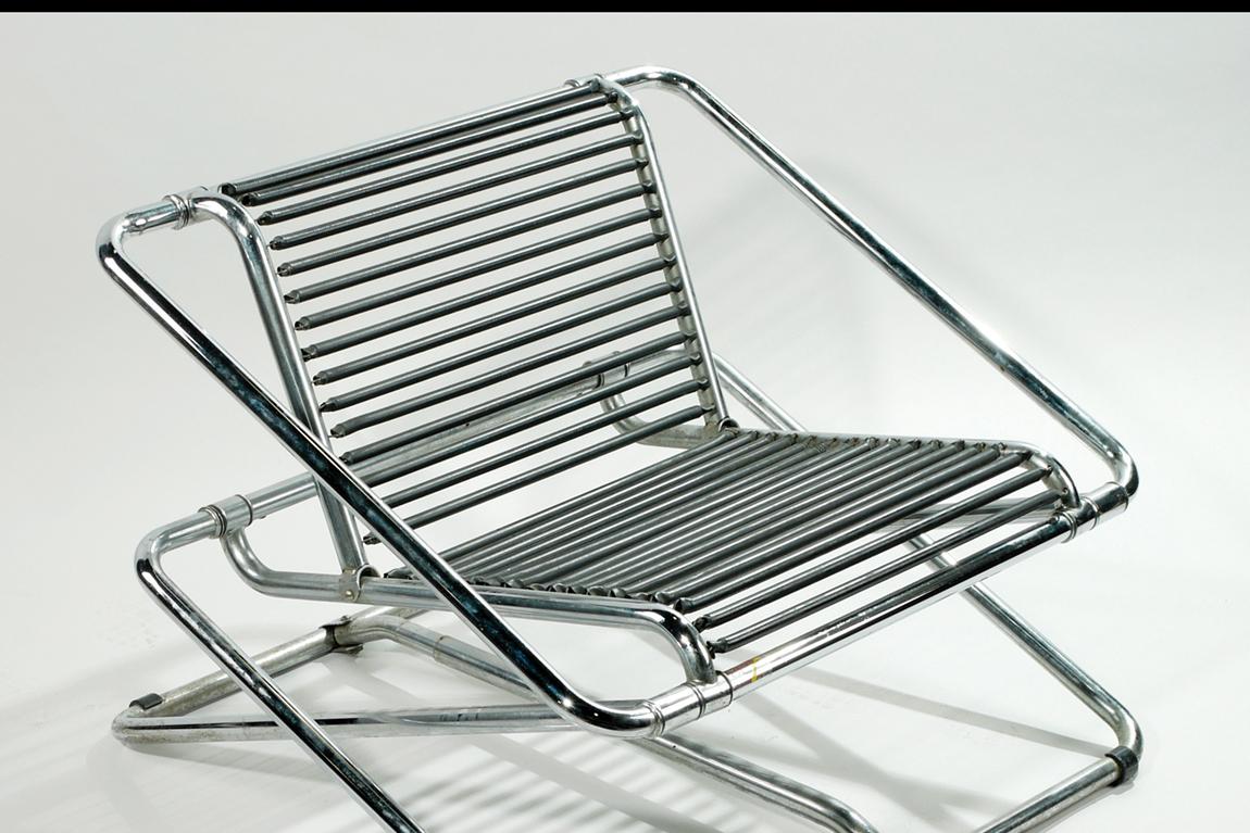 רון ארד, כיסא נדנדה, 1985 בקירוב. מאוסף יגאל אהובי. תמונה ראשית