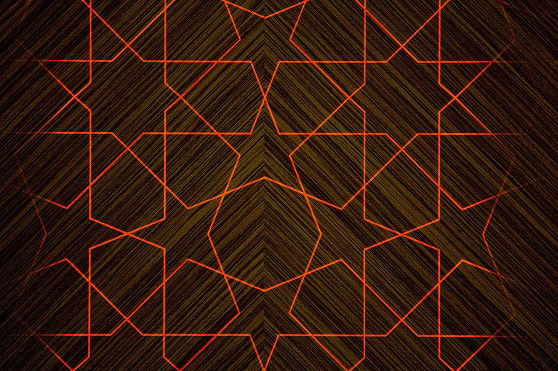 משטח מודפס בעיצוב גיורא אלקסלסי במראה עץ עם אפקטים של תאורה