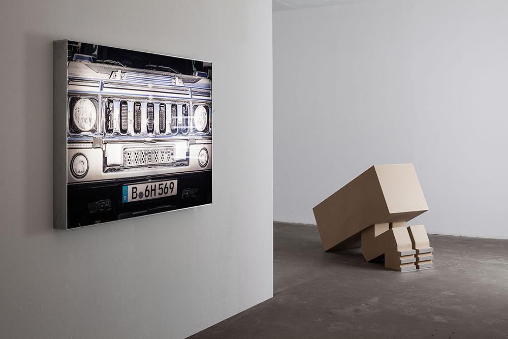 view2, מיצב, אלונה רודה, גלריה רוזנפלד. צילום: טל ניסים