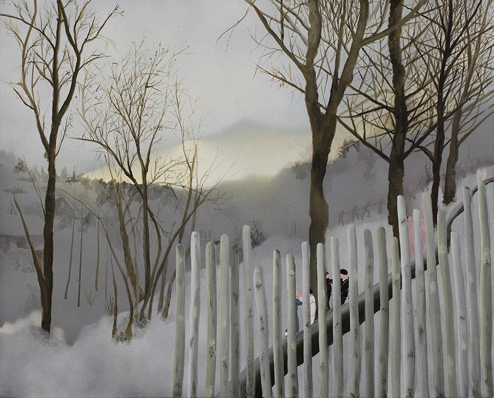 ללא כותרת, כרמלה וייס, גלריה p8. צילום: סיגל קולטון
