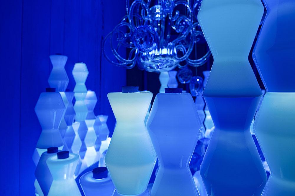 היורטה הכחולה, האגרטלים חדי הזוויות