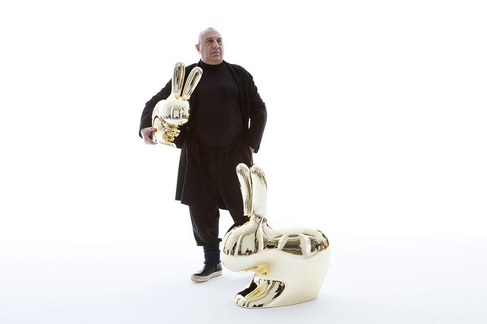 קיבו, Rabbit Chair Baby & Rabbit Chair, סטפנו ג'ובנוני, צילום: Toni Meneguzzo