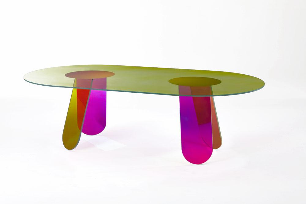 גלאס איטליה, Shimmer Dining Table, פטריסיה אורקיולה