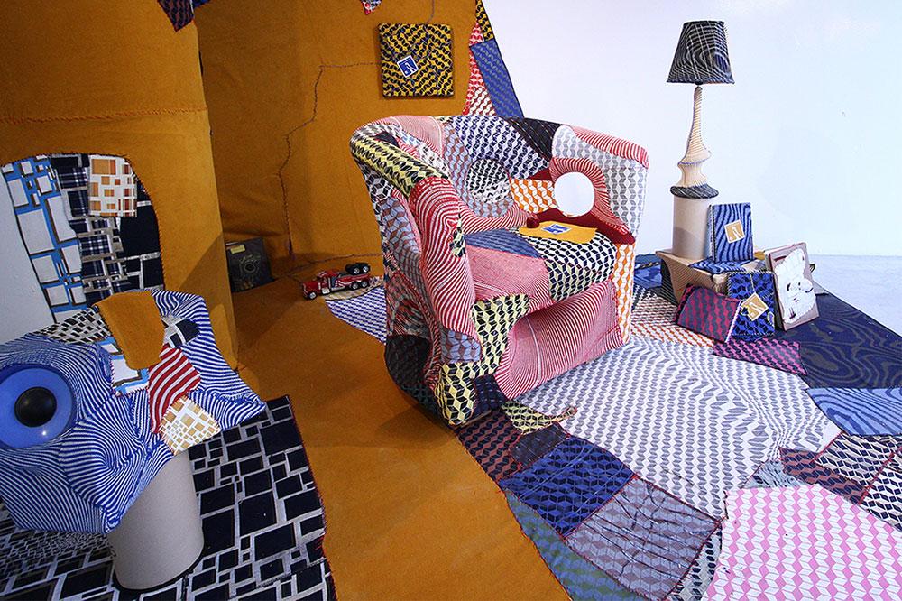 שי שניידרמן, Textileman. צילום: גיא עמיעד