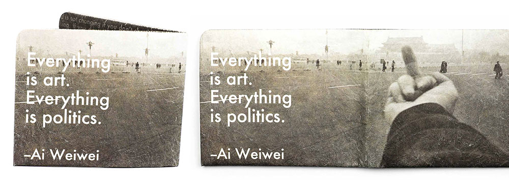 Art And Politics, Ai Weiwei