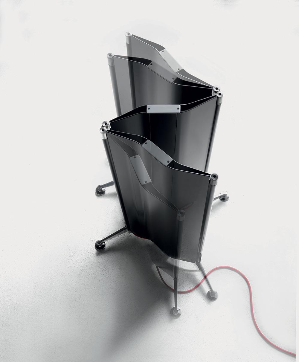 Origami של אלברטו מדה ל-Tubes Radiatori. הראשון בקטגוריית חדרי הרחצה