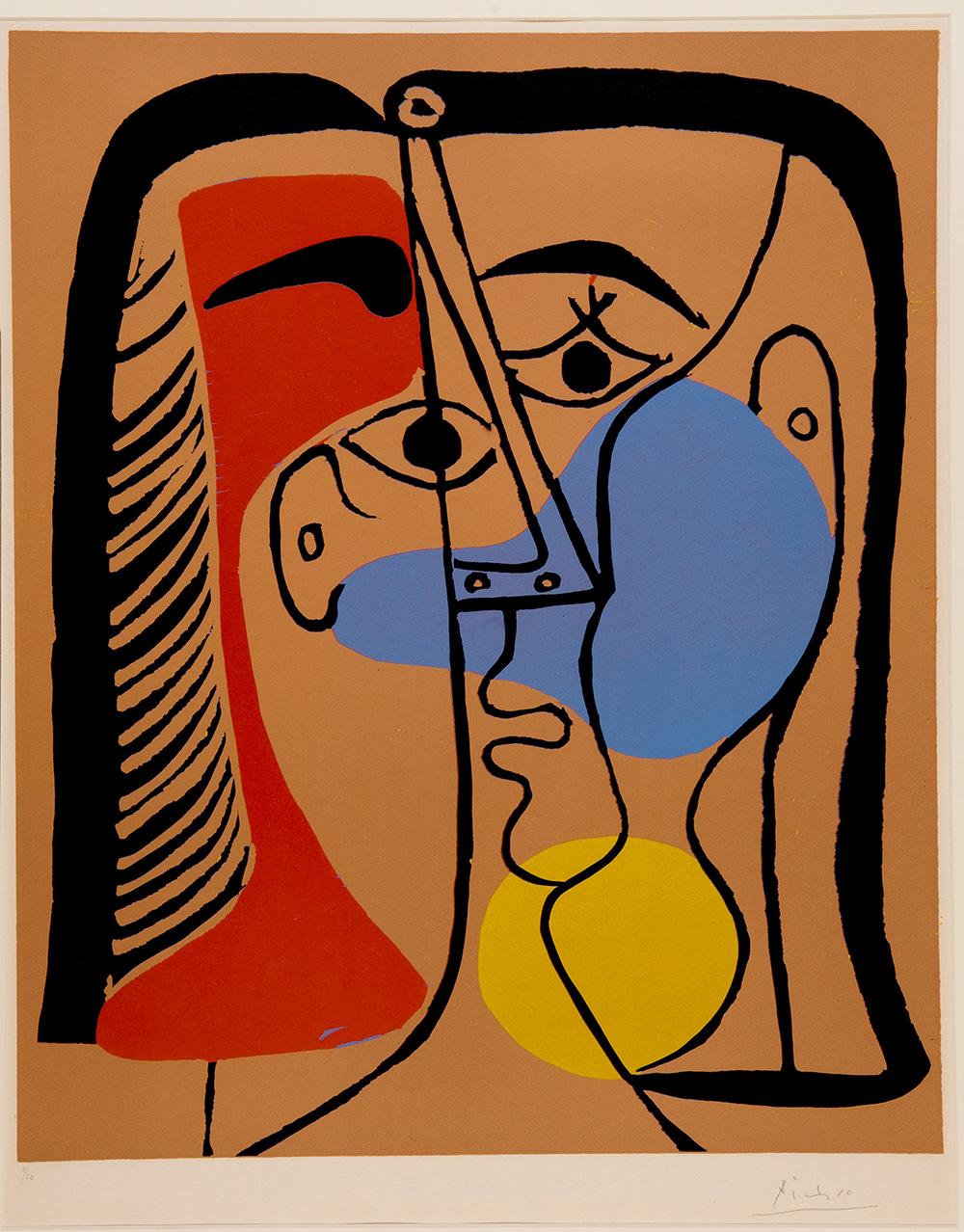 פבלו פיקאסו, ראש גדול, 1962. אוסף מוזיאון ישראל. צילומים: Succession Picasso 2016