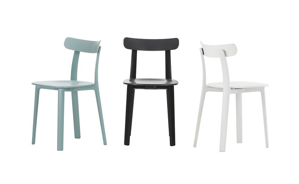 All Plastic Chair של ג'ספר מוריסון לויטרה נבחר למקום הראשון בקטגוריית הכיסאות והספות