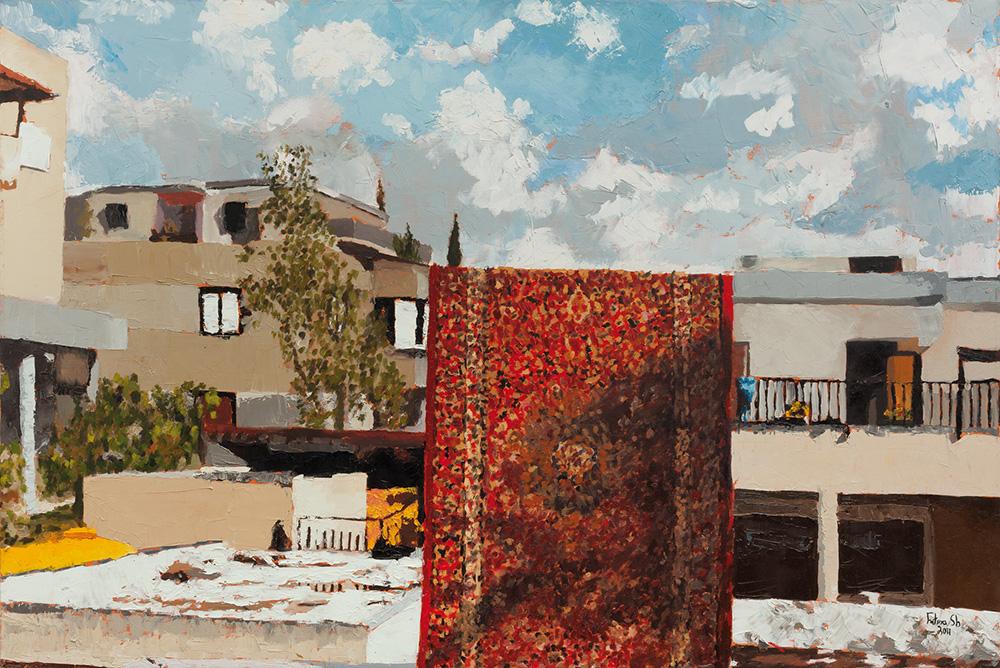 שטיח תלוי, 2011