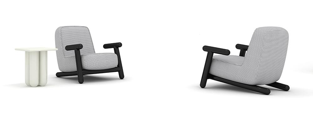 Bold Armchair & Table