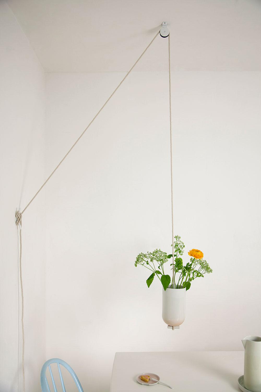 Spatialvase, לוטי דואס. התקרה נרתמת להדגשת תחושת המרחב. צילומים: Jeroen Wielen