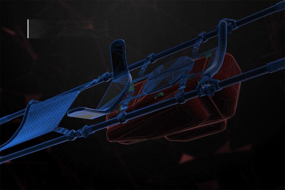 אבשלום רוזנק, עיצוב חדש לאלונקה הצבאית