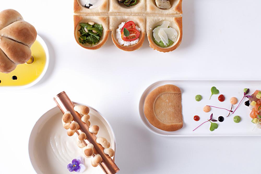 חוויית לחם, דניאל אמיר, מבט מלמעלה. צילום: אמית אופק